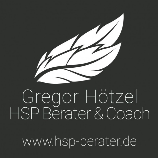 Gregor Hötzel, psychologischer Berater, Fachgebiet Hochsensibilität